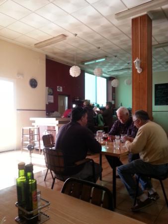 Murla, Spanien: Time for talking.