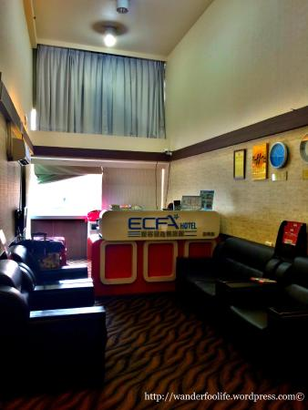 ECFA Hotel Kunming : The reception lobby at 10th floor