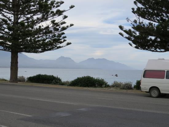 Kaikoura Waterfront Apartments : view from apartment