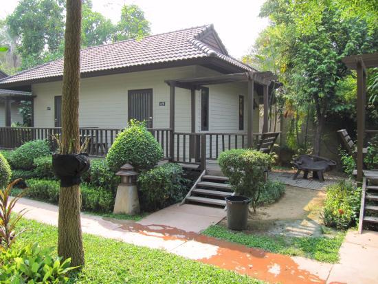 River Kwai Bridge Resort: Notre bungalow.