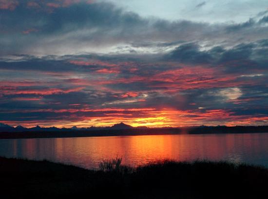 Νησί Camano, Ουάσιγκτον: Sunrise from the room