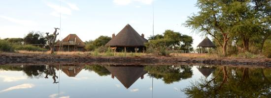 Mattanu Private Game Reserve: Front view of lodge