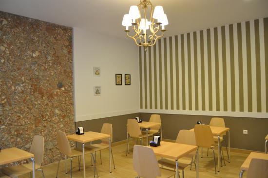 Hotel Sur: Salon desayunos