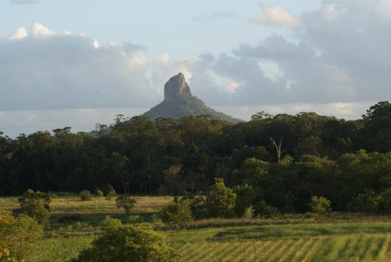 "Blackwattle Farm Bed And Breakfast: vista parziale dalla ""mountain view suite"""