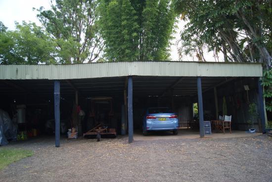 Blackwattle Farm Bed and Breakfast: Il parcheggio a disposizione