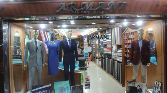 New Armani Tailors Studio