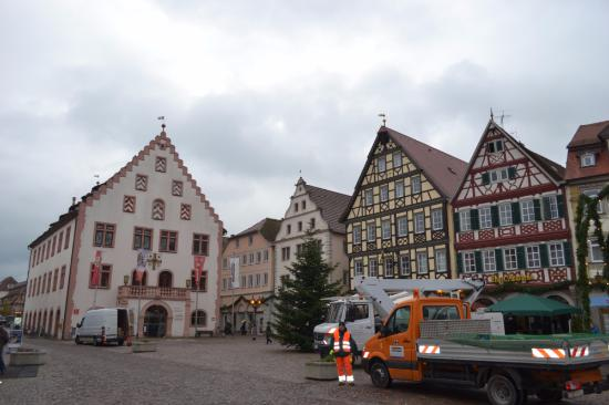 Bad Mergentheim, Alemania: Марктплатц