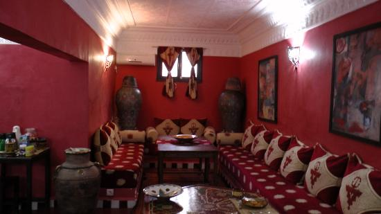 Dar Rita: sitting area