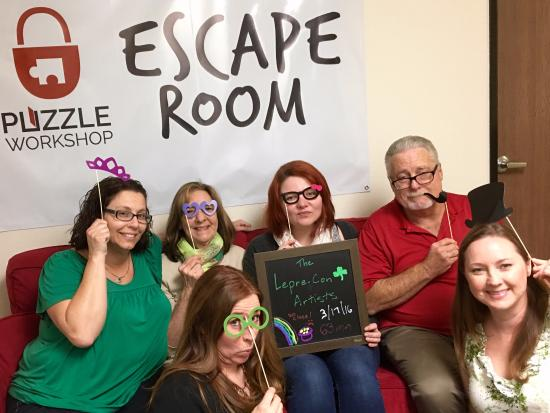 Puzzle Workshop Escape Room: Missed it by THAT much!