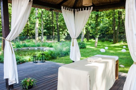 Corbeanca, Ρουμανία: Garden Massage Hut