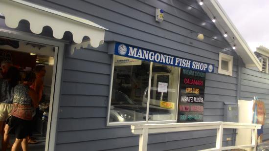 Mangonui, Nueva Zelanda: We finally here, Mangonnui F & C Shop