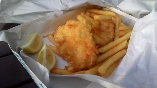 Mangonui, Nueva Zelanda: 2 pieces fish and chips