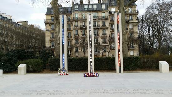 Memorial National de la Guerre d'Algerie et des Combats du Maroc et de la Tunisie