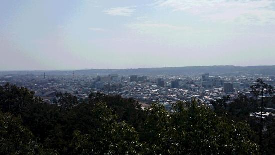 Mt. Tenran : 山頂から飯能市街を眺める