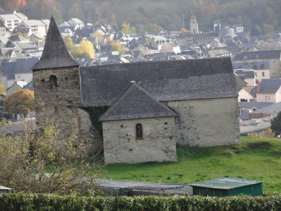 Esquieze-Sere, Francia: Église Saint-Nicolas d'Esquièze, Esquièze-Sere (65, Languedoc-Rousillon-Midi-Pyrénées), France.