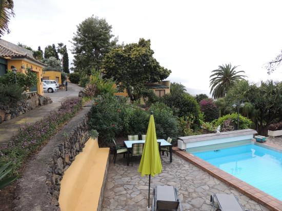 Finca Casa-Vieja : Pool, Garten, Parkplatz, abgeschlossener, ruhiger Traumgarten