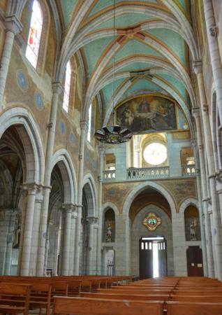 Église Saint-Jean-Baptiste Notre-Dame-des-Infirmes, Eaux-Bonnes (Pyrénées-Atlantiques) France.