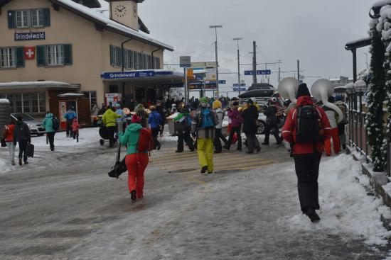 Grindelwald, Switzerland: in town