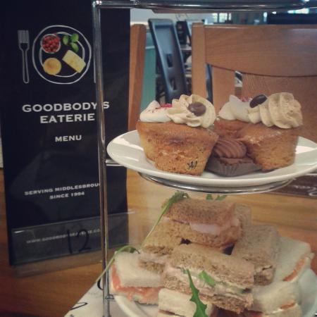 Goodbody's Eaterie: afternoon tea