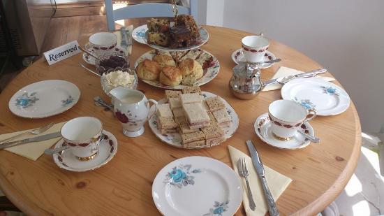 Sennybridge, UK: Afternoon Tea