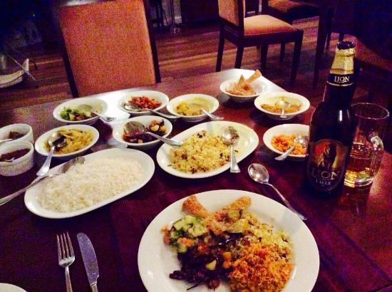 Langdale by Amaya: Order off menu - Sri Lankan curries and rice