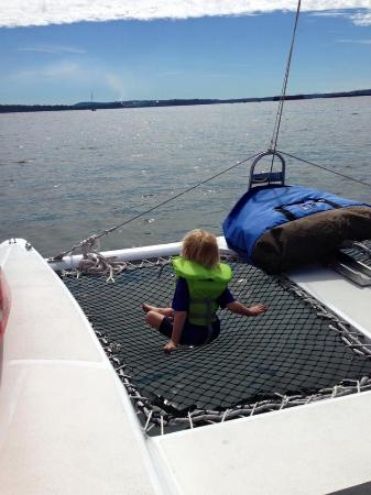 Nanaimo, Canada: I've never seen a 3 year old so chilled and content!
