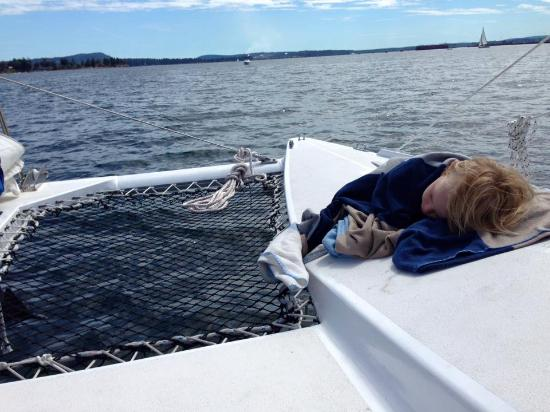 Nanaimo, Canadá: Nice place to nap