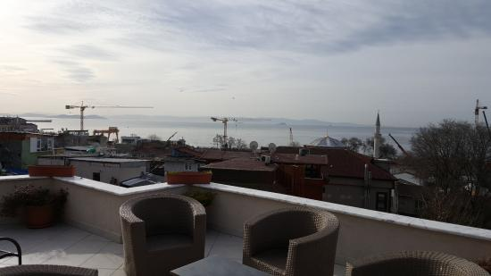 Sultanahmet Cesme Hotel : view from the terrace