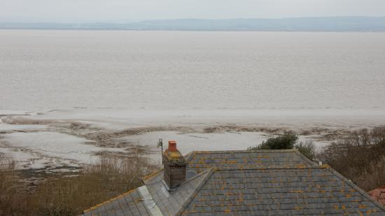 The Windmill Inn, Portishead: view from the dining room window