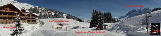 Les Crosets, Suiza: Environnement