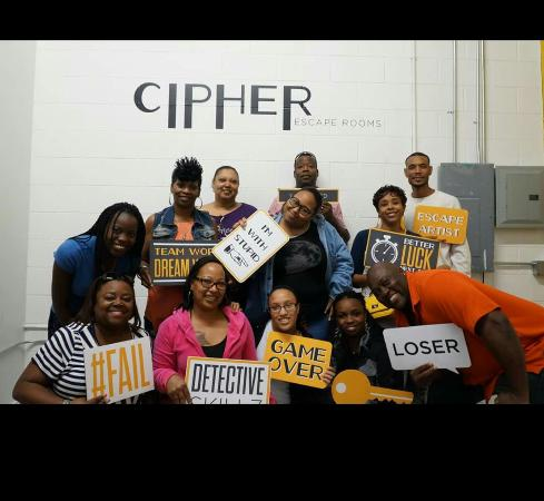 Cipher Escape Rooms