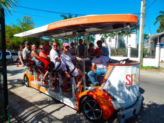 Sit & Sip Pedal Tours