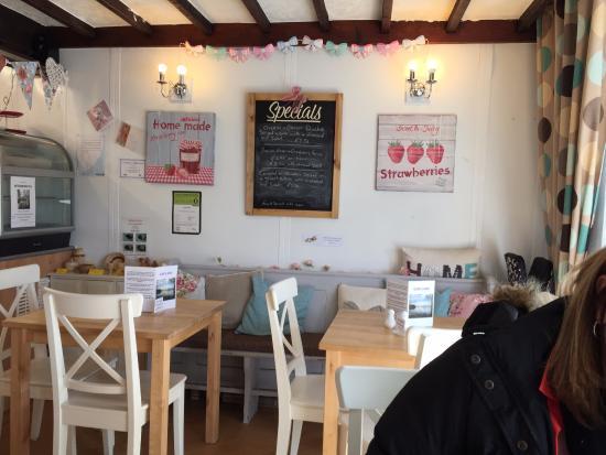 Cafe Latte: The interior