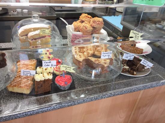 Cafe Latte: The lovely offerings