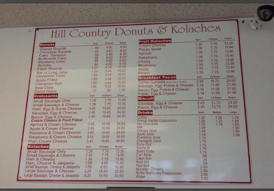 Hill Country Donuts & Kolaches: photo0.jpg