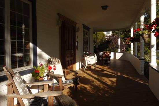 B&B Vert Le Mont: Relax on the verandah