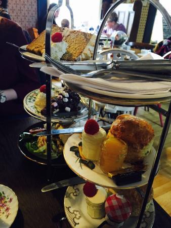 The Half Afternoon Tea Picture Of Biddy S Tea Room Norwich Tripadvisor