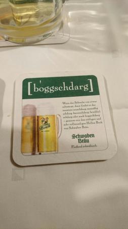 Muckenstuble: Leckere Schwäbische Küche Und Super Leckeres Bier