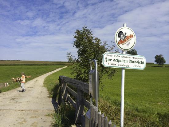 Start Der Wanderung Von Maxhofen Zur Schonen Aussicht Picture Of