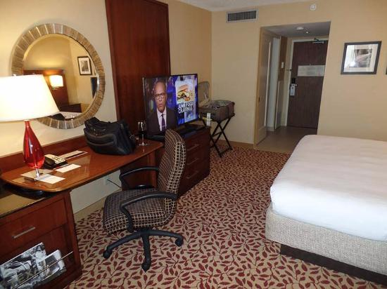 the room was medium sized with an excellent desk and layout rh tripadvisor com