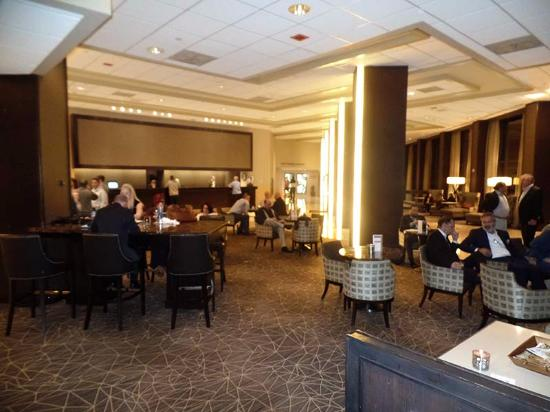 the lobby is spacious and tall with numerous seating areas also rh tripadvisor com
