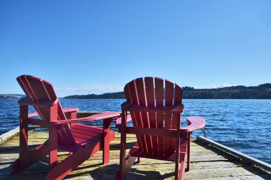 pull up a chair picture of coracle cove waterfront suite sechelt rh tripadvisor com