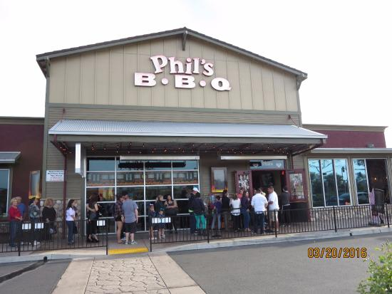 Here is the line that can build for Phil's BBQ......it's worth it.