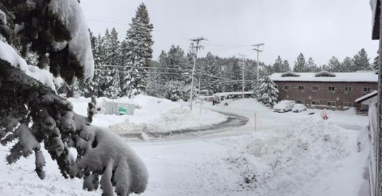 Sierra Lodge: The morning after....
