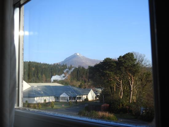 view of goatfell and grounds at front picture of auchrannie resort rh tripadvisor com