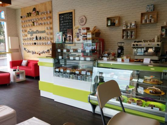Coffee Corner: interior tazas
