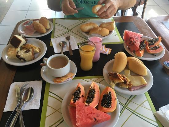 Tropical Oceano Praia: Café da manhã