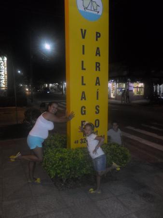 Village Paraiso: Frente do hotel