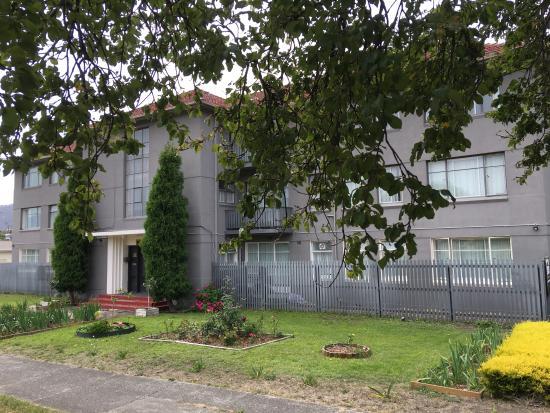 Derwent Park, Australia: front building 1