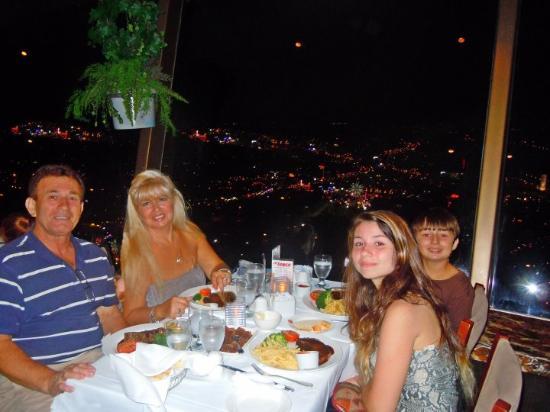 World Famous Falls View Dining @ Skylon Tower Revolving Dining Room. Part 44